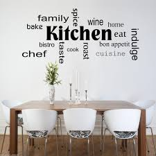 Kitchen Stencil Kitchen Words Phrases Wall Art Sticker Quote Decal Mural Stencil