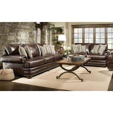 dark brown leather sofa set brown leather sofas with white rug dark hardwood floors stone accent wall abbyson living monaco dark brown leather sofa and