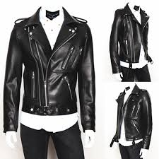 personalize men cool leather jacket long sleeve lapel washing pu leather motorcycle jacket for men contracted