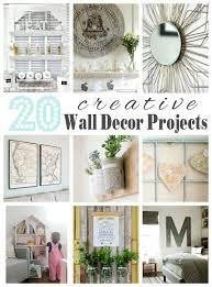 20 creative wall decor ideas