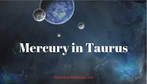 Mercury Sign Compatibility Chart Mercury In Taurus