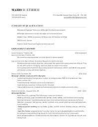 Millwright Resume Cover Letter