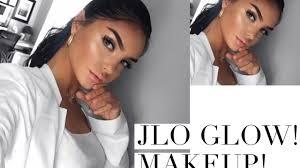 glowy makeup jlo glow soft makeup tutorial