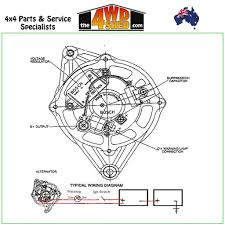 Single Wire Alternator Wiring Diagram
