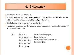 business letter salutation formal business letter salutation www pointpoint co intended for