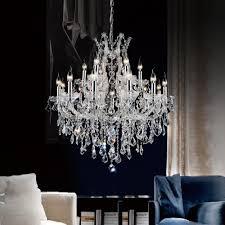 cwi lighting maria theresa 19 light chrome chandelier