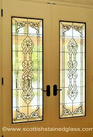 stained glass door stained glass interior 1930s front