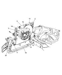 2000 jeep grand cherokee radiator related parts thumbnail 2