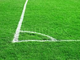 soccer field grass. Green Grass Of The Football (soccer) Field, Stock Photo Soccer Field