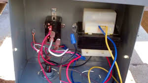 hvac solving contactor issues with a relay youtube 24v Contactor Relay Wiring Diagram 24v Contactor Relay Wiring Diagram #43 Start Stop Contactor Wiring Diagram