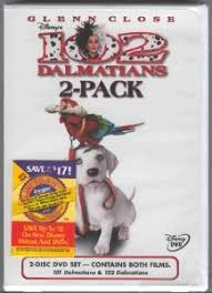 101 dalmatians widescreen 102 dalmatians full screen 2 pack