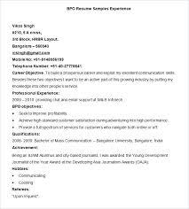 Latest Resume Format In India Megakravmaga Com
