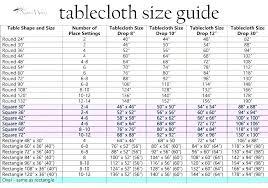 Round Tablecloth Sizes Obago Co