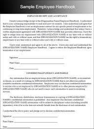 Free Employees Handbook 10 Employee Handbook Templates Free Word Pdf Doc Samples