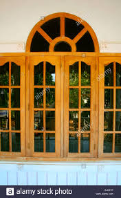 Small Picture Glass windows of a modern house Kerala Stock Photo Royalty Free