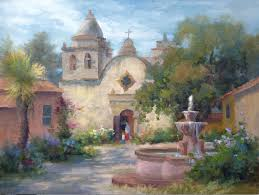 carmel mission by johannes vloothuis oil painting tips oil landscapes landscape painting