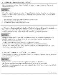 Positive Behavior Charts For Middle School Classroom Behavior Ement Plan Template Charts For Middle