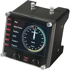Logitech G Pro Flight Instrument Panel: Computers ... - Amazon.com