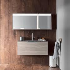 mirrored bathroom wall cabinet kikko