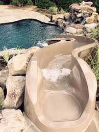backyard pool with slides. Back Yard Water Slide By @ParadiseSlides Backyard Pool With Slides