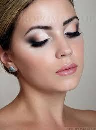 bridal makeup for fair skin pretty eye brown eyes beauty smoky light pink eyeshadow idea