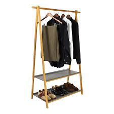 wardrobe rack elegant portable garment and clothes storage racks storables