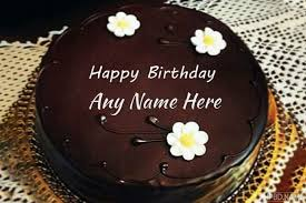 happy birthday delicious chocolate