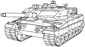 Tank Coloring Pages Really Encourage Military Page Free Printable In