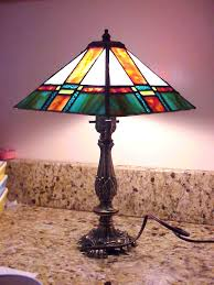 where to stained glass lamps