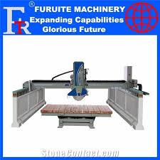 frt450laser infrared auto marble granite bridge cutter cutting machine