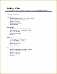 Resume Reference Page References Page For Resume Template Blackbackpub Com