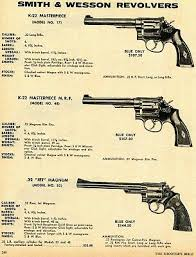 1971 print ad of smith wesson s w 17