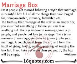 The Beauty Of Marriage Quotes Best of The Marriage Box