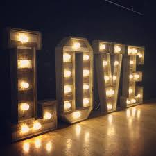 lighting letters. simple lighting we supply light up letters to hire for northamptonshire and beyond  including love i do u0026 dance our new rustic love in lighting letters