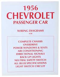 1956 tri five chevy parts literature multimedia literature 1956 chevrolet black white wiring diagram