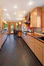 stylish design wood floors in kitchen vs tile kitchen flooring wood vs tile flooring kitchen design