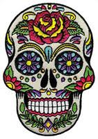 Wholesale Skull Iron Embroidered <b>Patch</b> for Resale - Group Buy ...