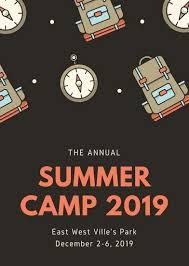 Summer Camp Flyer Template Inspiration Customize 44 Summer Camp Flyer Templates Online Canva