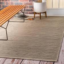 5 8 outdoor patio rug unique nuloom flatweave checd indoor outdoor patio beige