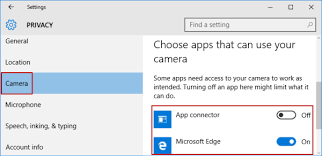 Customize Apps Using Camera In Windows 10