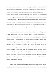 english compare and contrast essay assignment   supernatural horror 4 film