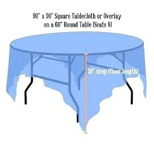 what size tablecloth for 60 inch round table what size tablecloth for a round table tablecloth