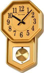 <b>Настенные часы Rhythm CMP545NR18</b> с маятником — купить в ...