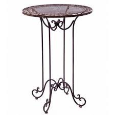 Table de Bar Mange Debout Table Haute d'Appoint Ronde Bistrot ...