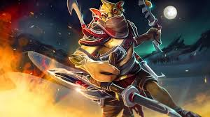 dota 2 heroes bounty hunter roles nuker escape fantasy art