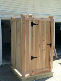 outdoor shower enclosure kit cedar shower kit outdoor ma fl outdoor outdoor shower enclosure kit cape shower outdoor