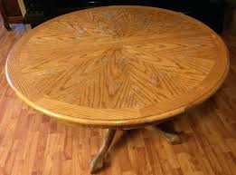 replace veneer table top picture of how i destro our dinning table repair oak veneer table