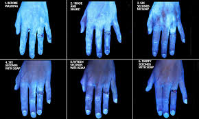Blue Light Germ Detector How Clean Are Your Hands The Answer May Change How You Wash