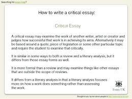 7th Grade Essay Writing Essay Writing Example Writing A Critical Review Essay Writing