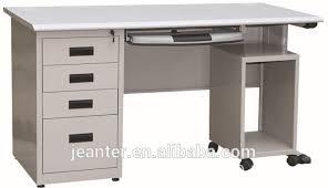 metal office tables. Guangzhou Office Furniture Steel Knock Down Metal 2 People Tables L